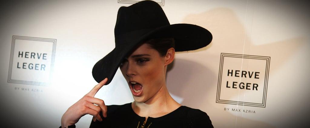 Coco Rocha Fashion Week Interview Fall 2014