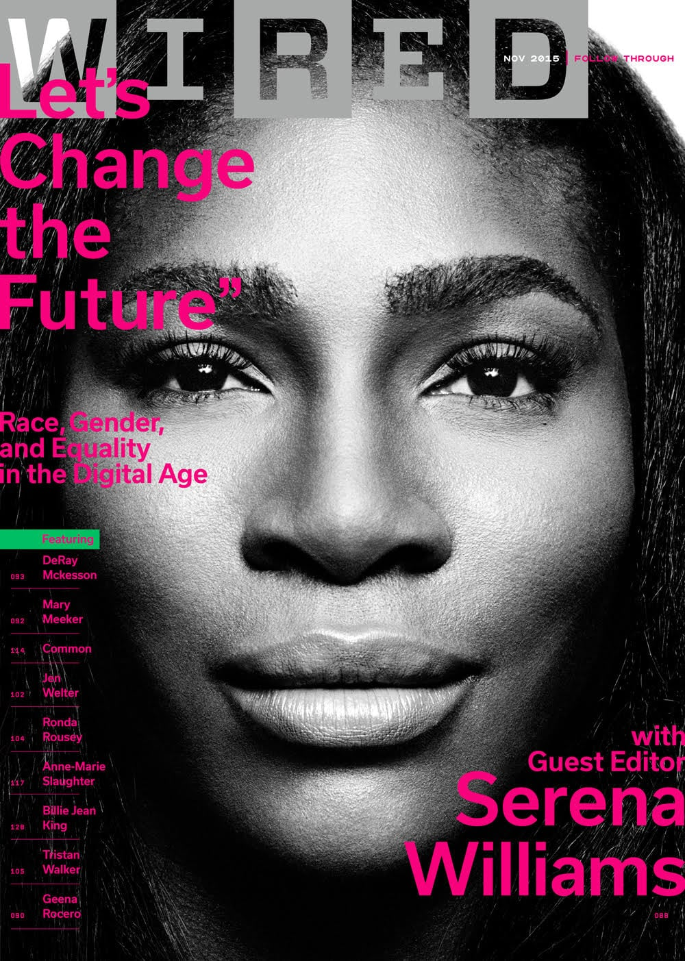 Serena Williams on Cover of Wired Magazine | POPSUGAR Fitness