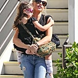 Sarah Michelle Gellar picked Charlotte up from ballet class in LA.
