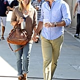Reese Witherspoon and Jim Toth Share a Sunday Date as a Duo