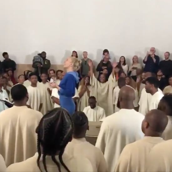 Sia Singing at Kanye West's Church Service May 2019 Video