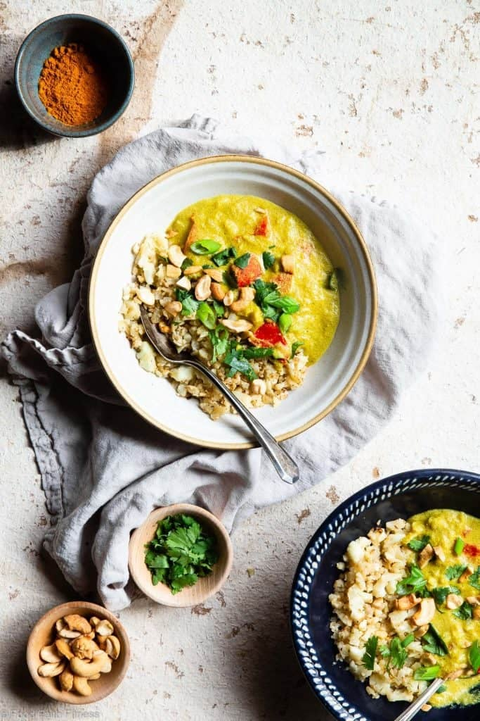 Instant Pot Tahini Cashew Curry