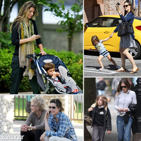 Celebrity Parents on Phones