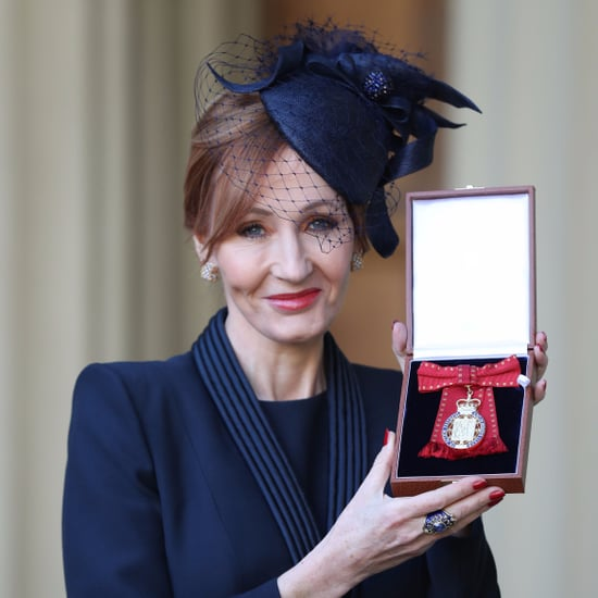 J.K. Rowling Made Companion of Honour by Prince William