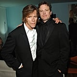 Kevin Bacon and Colin Firth got together during a 2005 after party for Where the Truth Lies.