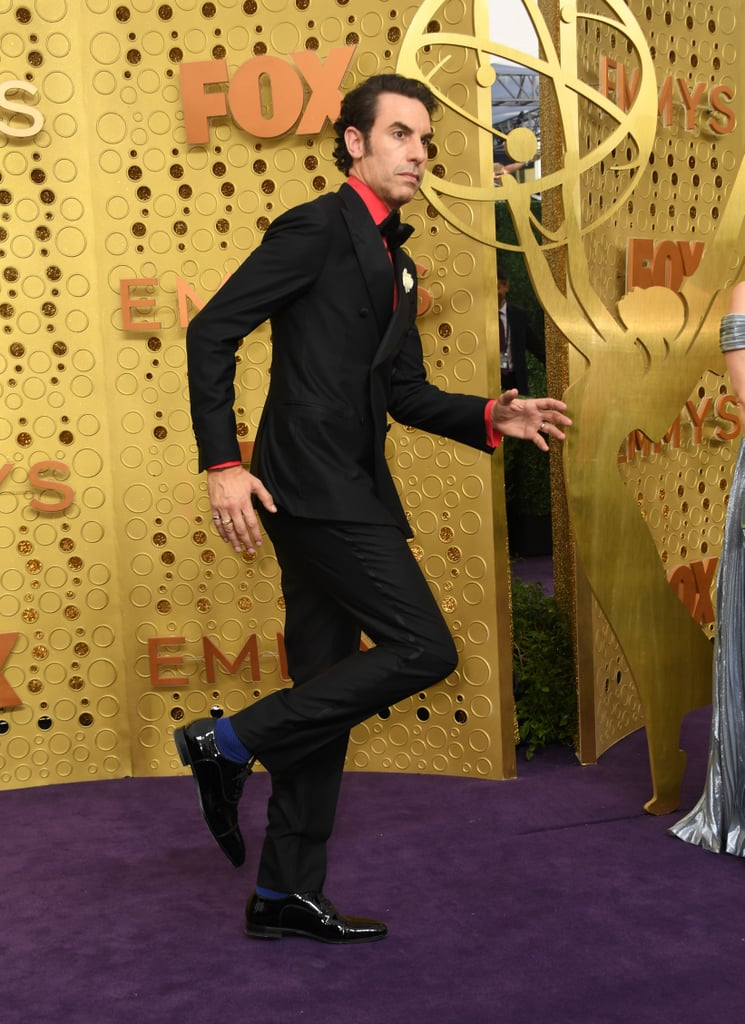 Sacha Baron Cohen at the 2019 Emmys