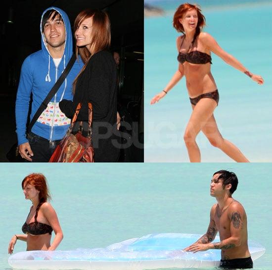 Ashlee Simpson on her Honeymoon in a Bikini