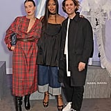 Roberta Einer, Naomi Campbell, and Nabil Nayal at the Fashion For Relief Charity Pop-Up Store