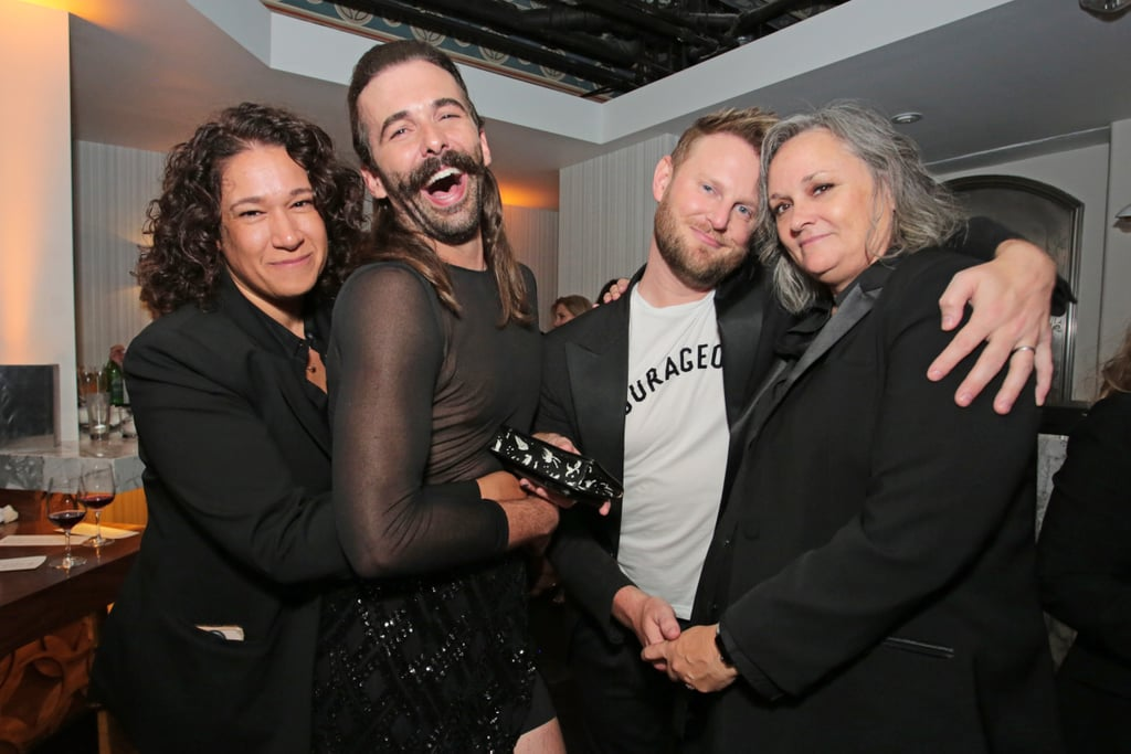 Queer Eye's Jonathan Van Ness's Sheer Outfit Emmys 2018