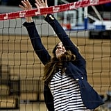 Kate Loses Her Bump and Masters Her Spike
