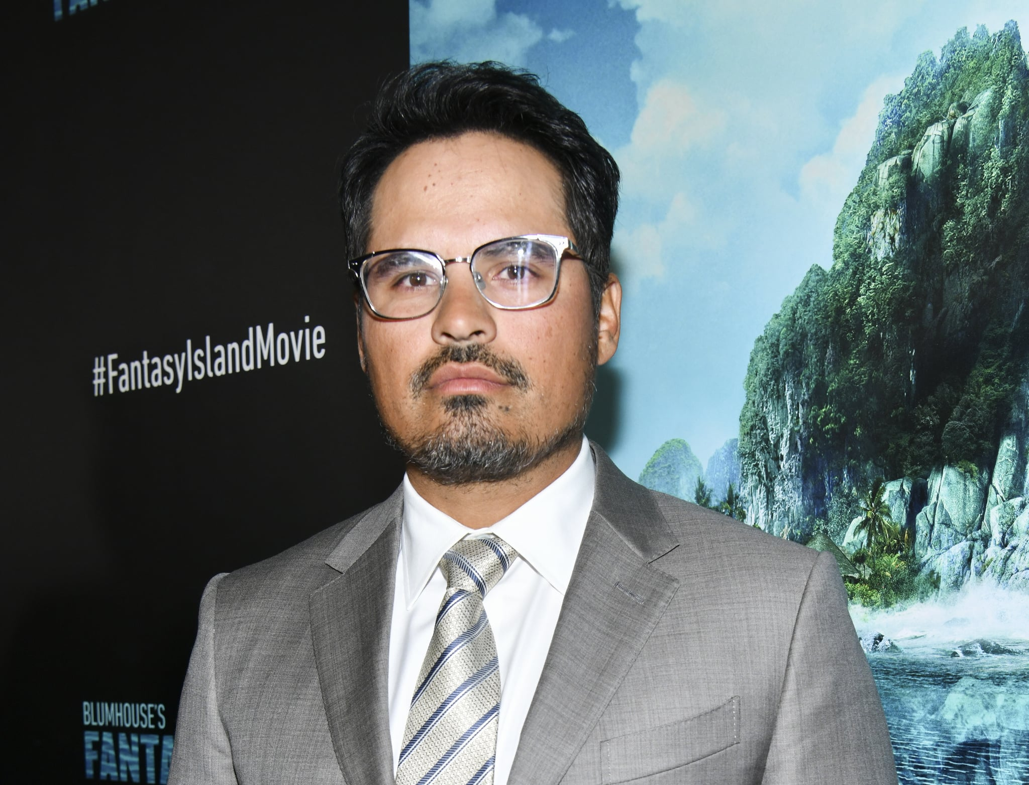 CENTURY CITY, CALIFORNIA - FEBRUARY 11: Michael Peña attends the Premiere Of Columbia Pictures'