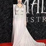 Angelina Jolie & Elle Fanning Maleficent UK Premiere Dresses