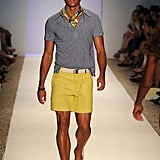 Trina Turk even showed some preppy cool menswear.