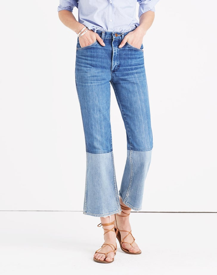 Madewell B SidesTM 'Two-Tone Edition' Reworked Vintage Jeans ($385)