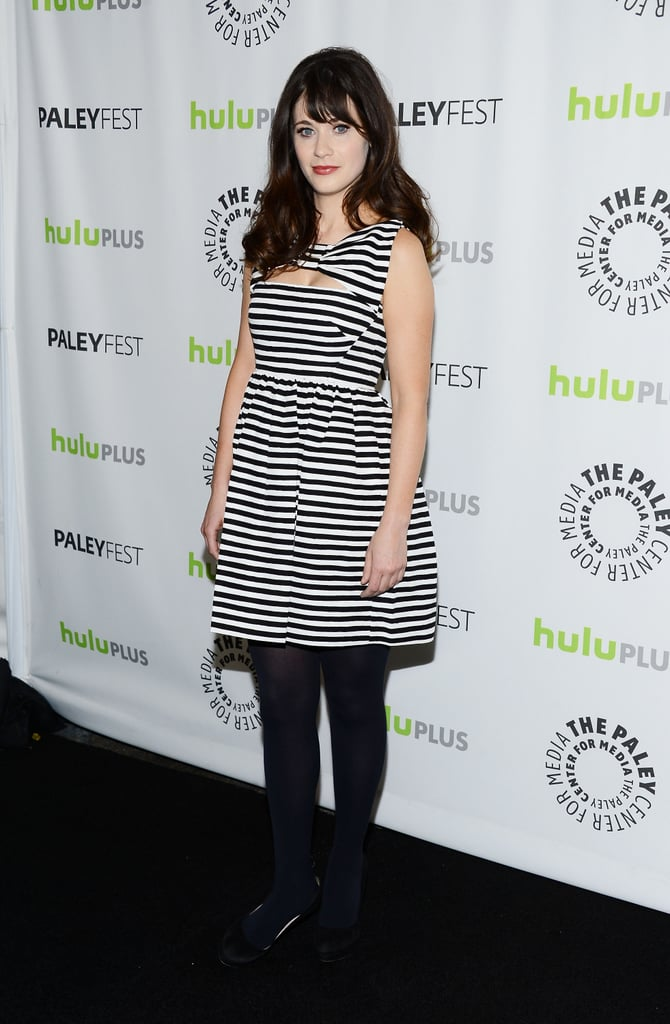 Zooey Deschanel and Her Costars Bring New Girl to PaleyFest