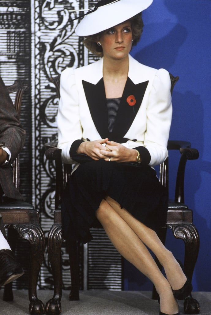 She visited the National Gallery of Art in Washington DC in November 1985.