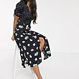 Oasis Floral Patchwork Midi Dress
