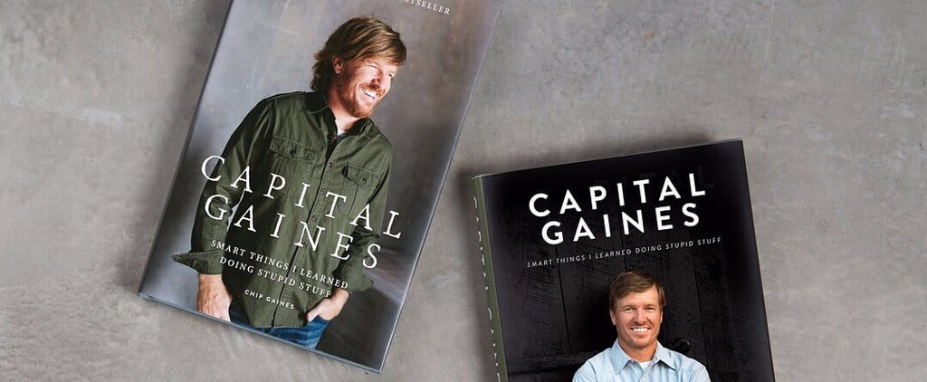 "Why Chip Gaines Chose the Cover Image That ""Lost by a Huge Margin"" for His Book"