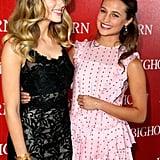 Pictured: Amber Heard and Alicia Vikander