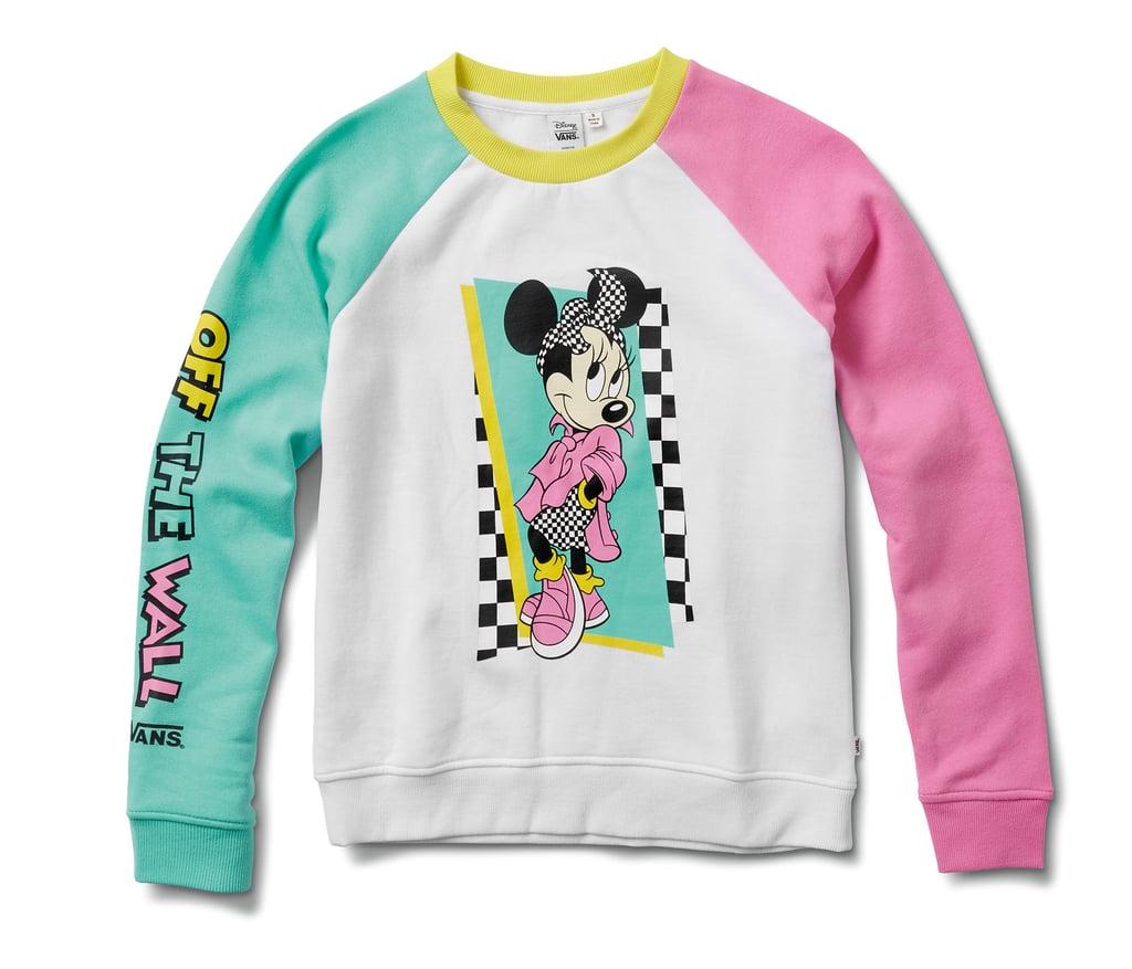 ebded80a18 Disney x Vans Hyper Minnie Mouse Crew Sweatshirt | Disney Mickey ...