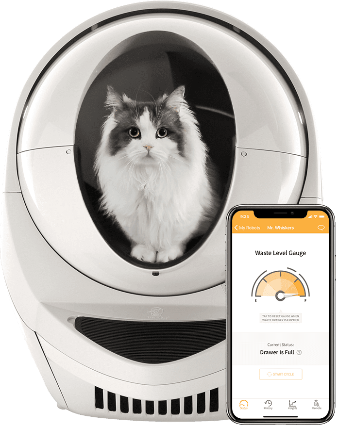 Litter-Robot 3 Connect Self-Cleaning, WiFi Litter Box in Beige