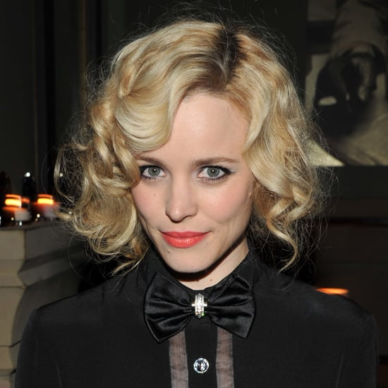 She gave the faux bob a whirl at an event in 2011, paring the sultry style with a bold tangerine lipstick color.