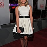 Ashley Benson in white at the People's Choice Awards.