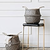 Connected Goods Lou Zig Zag Belly Basket