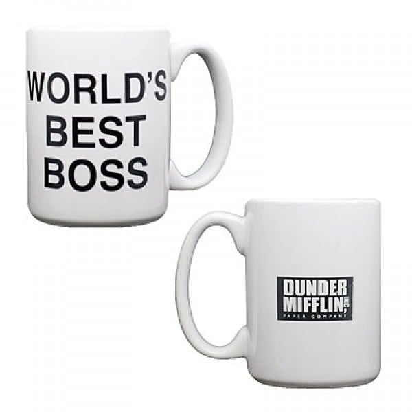 World's Best Boss Mug ($12)