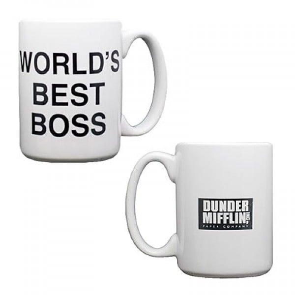 World's Best Boss Mug ($19)