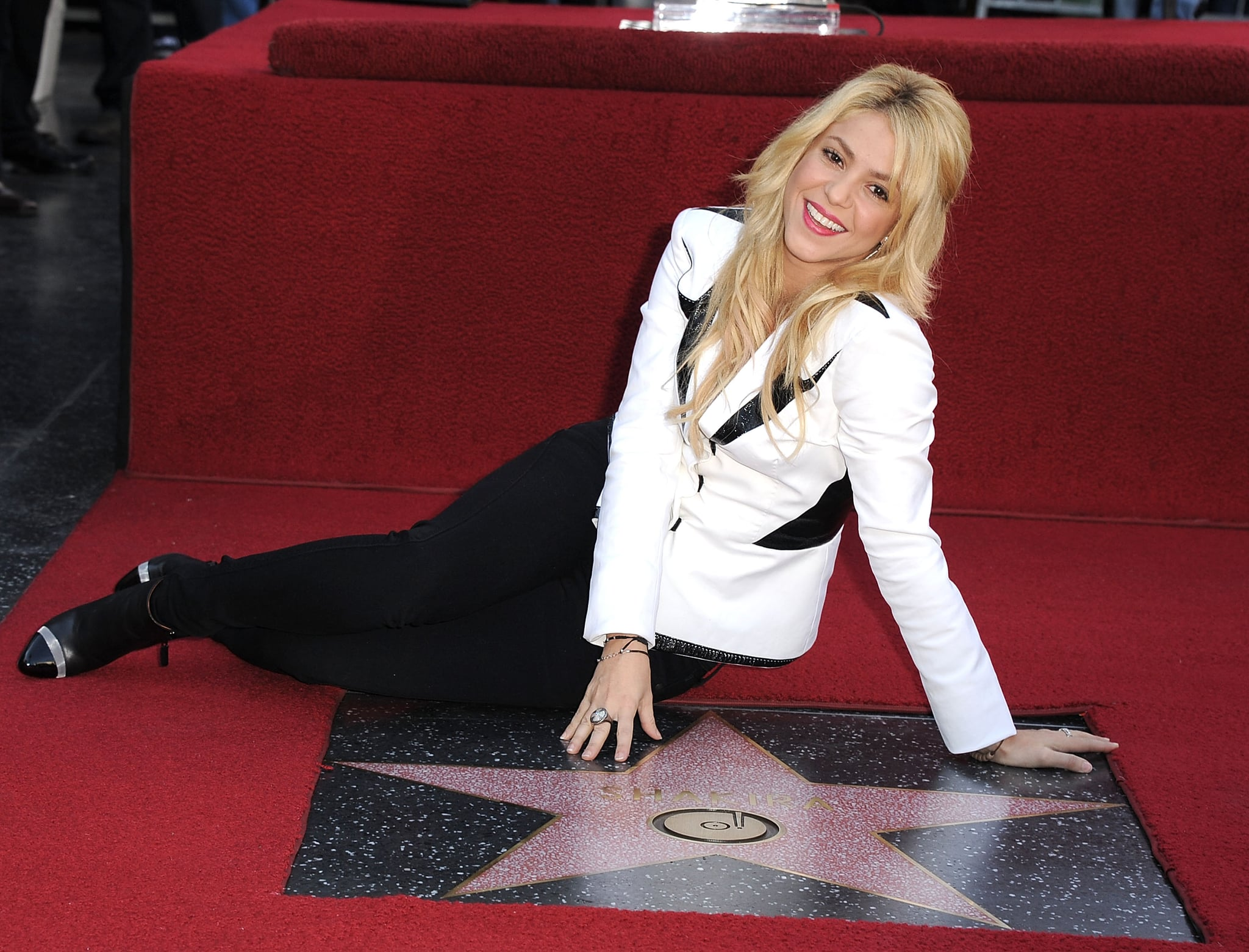 HOLLYWOOD, CA - NOVEMBER 08:  Shakira attends the Shakira Hollywood Walk Of Fame Ceremony on November 8, 2011 in Hollywood, California.  (Photo by Steve Granitz/WireImage)