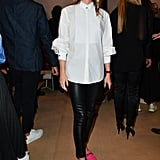Olivia Palermo at the Tod's Milan Fashion Week Show