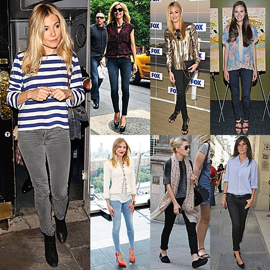 Celebrities Wearing Skinny Jeans