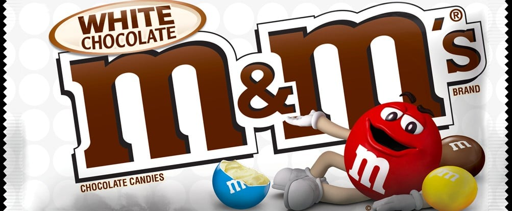 White Chocolate Fanatics, Brace Yourselves For the Best M&M's News!