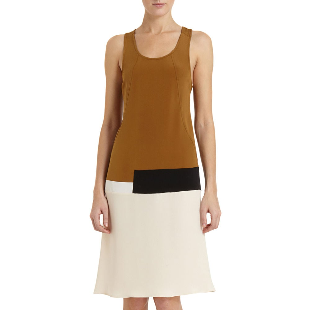 Derek Lam Colorblock Tank Dress ($990)