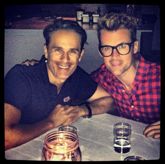 Brad Goreski celebrated 11 years with his partner in Mykonos.