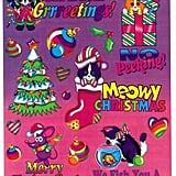 Lisa Frank Holiday Stickers