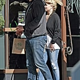 "Jessica Simpson Grabs Eric's ""Perfect Tush"" on a Romantic Lunch"