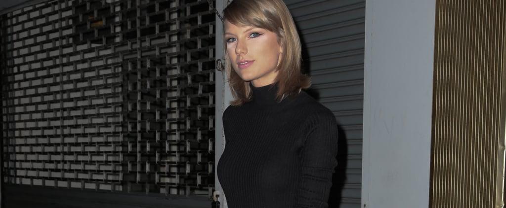 Taylor Swift Wearing Black