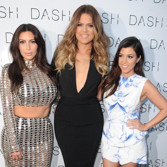 Dash Store Kardashian Names Sweatshirt