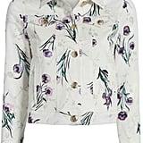 Max Mara Rovo Floral Denim Jacket