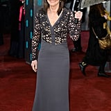 Sally Field stepped out in Antonio Berardi for the BAFTA Awards in London.