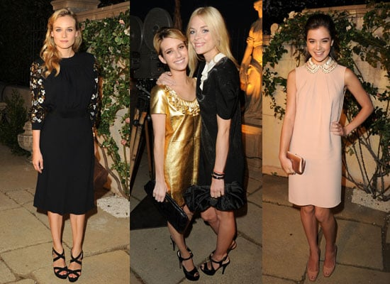 Pictures of Diane Kruger, Hailee Steinfeld, Camilla Belle, Ashley Tisdale and Emma Roberts at the Miu Miu Muta Party