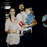 David Koresh With Wife Rachel, Son Cyrus, and Daughter Star