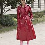 Style It With a Patent Leather Coat