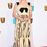 Lucy Boynton at the 2019 BAFTA Awards