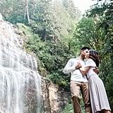 Bridal Veil Falls Engagement Shoot