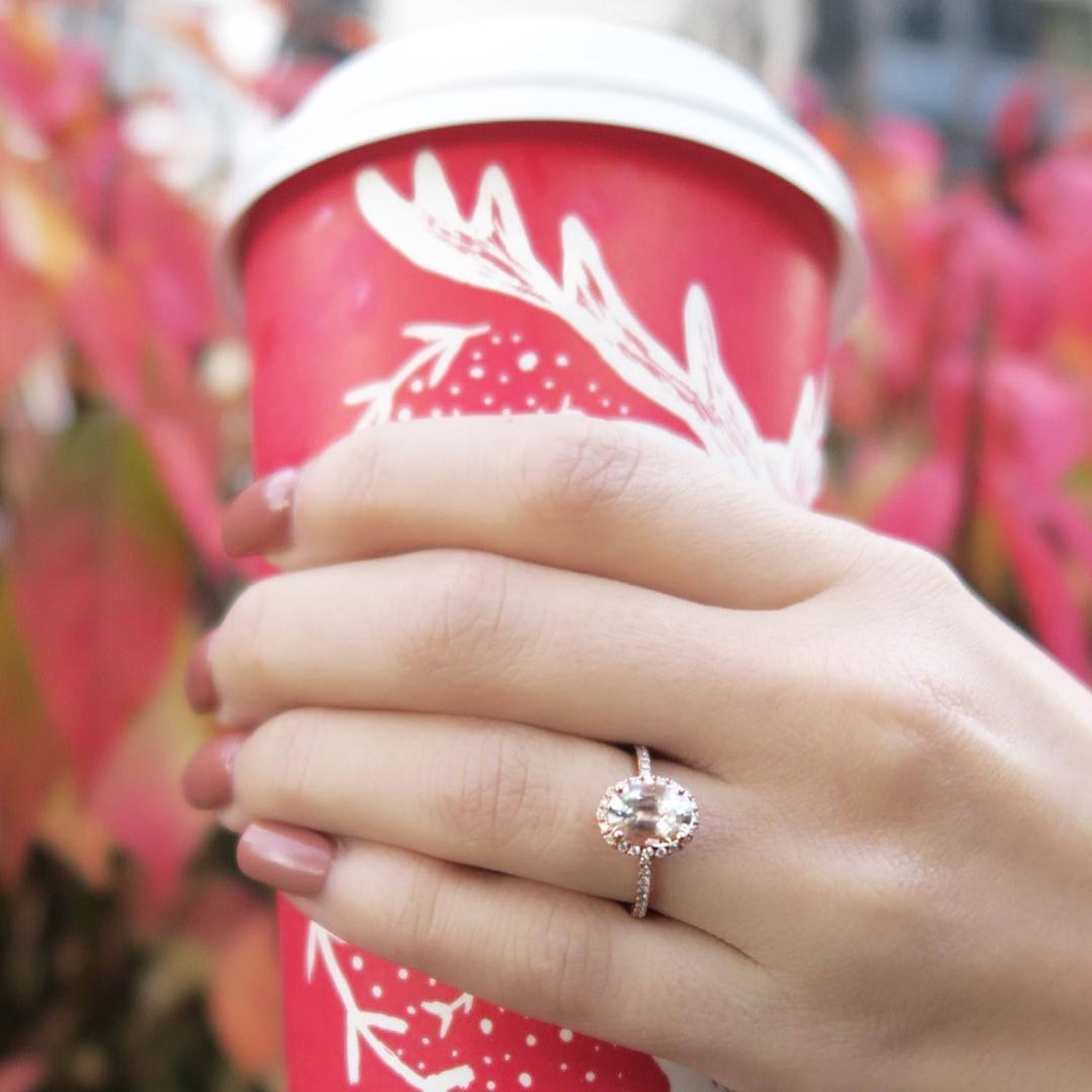 Christmas Engagement Ring Pictures | POPSUGAR Love UK