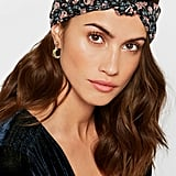 Anna Sui Lilies Of The Valley Knotted Floral-Print Headband