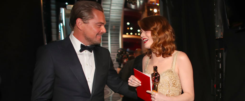 Yeah, Emma Stone and Leonardo DiCaprio Would Actually Make a Pretty Cute Couple
